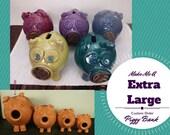Custom handmade piggy ban...