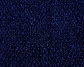 "NAVY  10"" X 9"" crochet tutu top  - tutu dress supply,tutu top,stretchy tutu dress top ,tutu dress top"