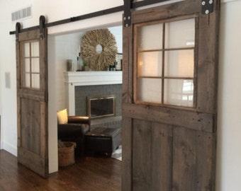 Geneva's custom barn door