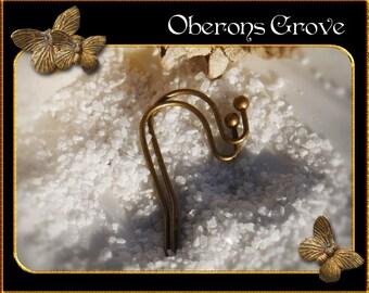 50  earhooks bronze