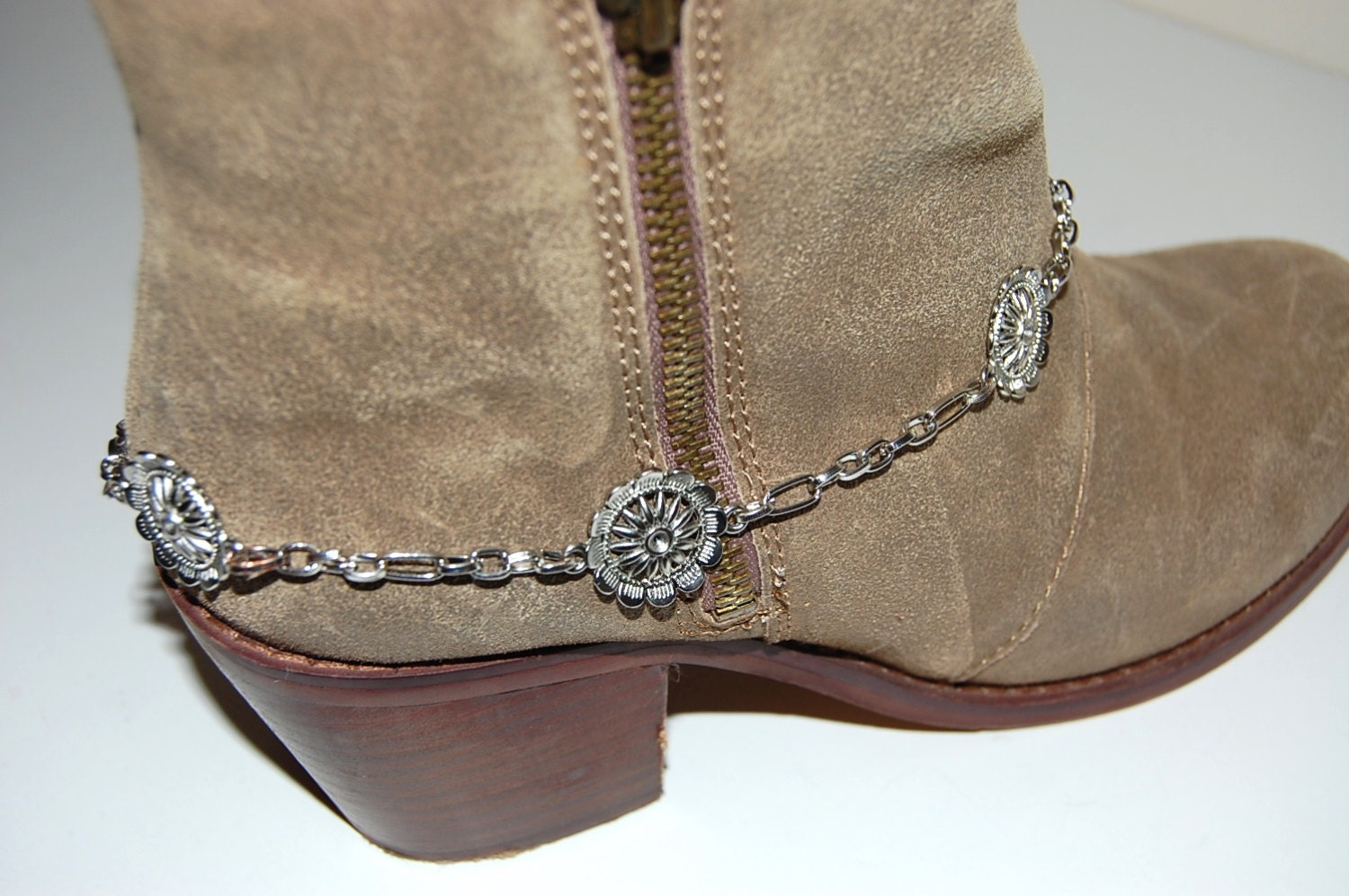 boot jewelry boot bracelet boot bling boot by sewmuchfunstuff