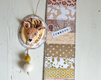 Bookmark totem biche-customizable