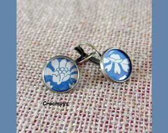 Earring liberty capel blue