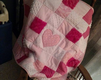 Soft and cuddly baby quilt