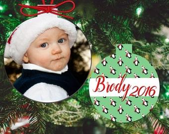 Christmas Ornament. Photo Christmas Ornament. Personalized Christmas Ornaments. Family Christmas Ornaments. Custom Family Photo Ornaments.