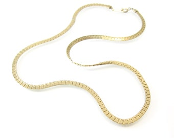 Vintage Gold Tone Chain
