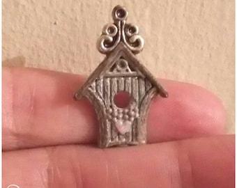1/12 victorian bird housr miniature dollshouse han made