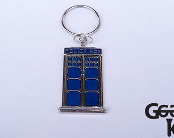 Police Box Key-Ring, tardis, whovians, Dr Who fans