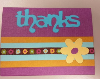 Bright Thank you card #28