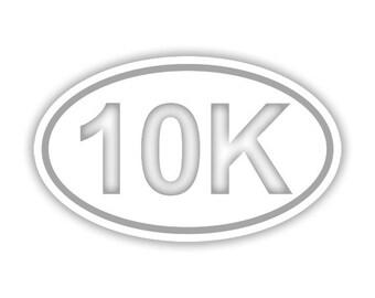 10K Running decal