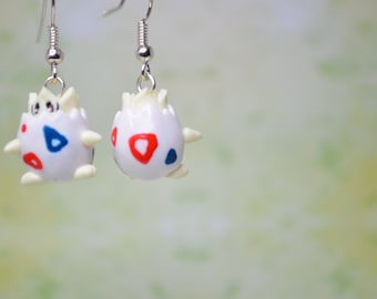 Pokemon Earrings or Necklace - Togepi