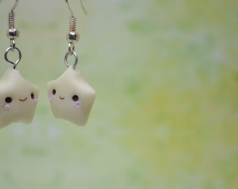 Kawaii/ Cute Glow-in-the-Dark Star Earrings
