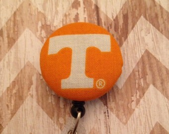 Tennessee fabric retractable badge reel