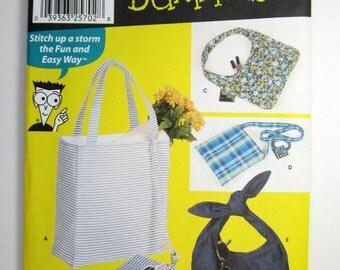 Simplicity 7161 Bag Sewing Pattern Uncut