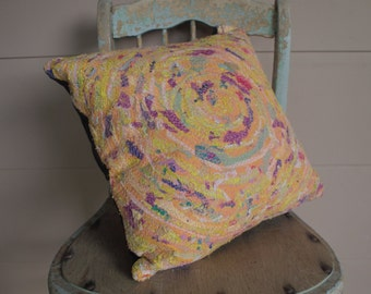 Unique Textile Art Silk Cushion