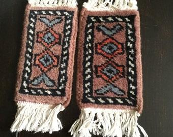 Vintage Native American  Wool Pattern