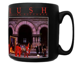 Rush - Moving Pictures - Coffee Mug - FREE SHIPPING