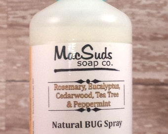 Natural Bug Spray,  Bug Repellent,  Woodsy Scent Spray, Bug Spray,  Mosquito Spray, Tick Repellant, DEET Free Bug Spray, Insect Repellent