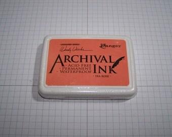Ranger Archival Ink- Tea Rose