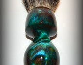 Handturned Resin Shaving Brush - 993