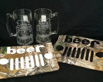 JEEPAHOLIC Beer Stein