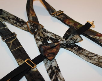 Mossy Oak Suspenders Only