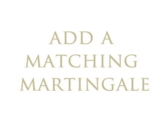 Add a matching martingale