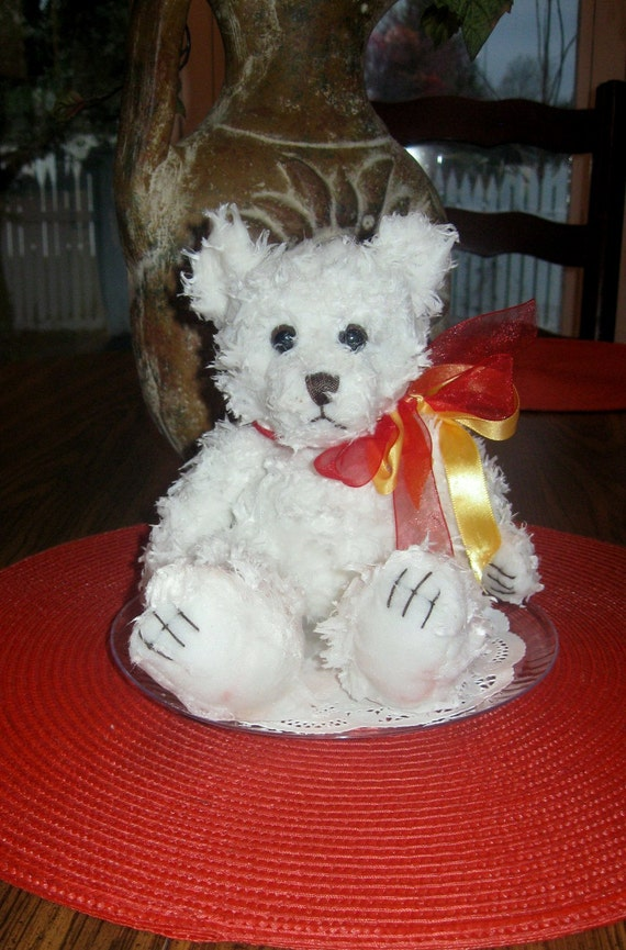 Very Cute Teddy Bears Dipped in Scented Wax 7 1/2