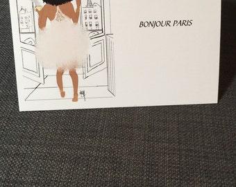 Bonjour Paris card
