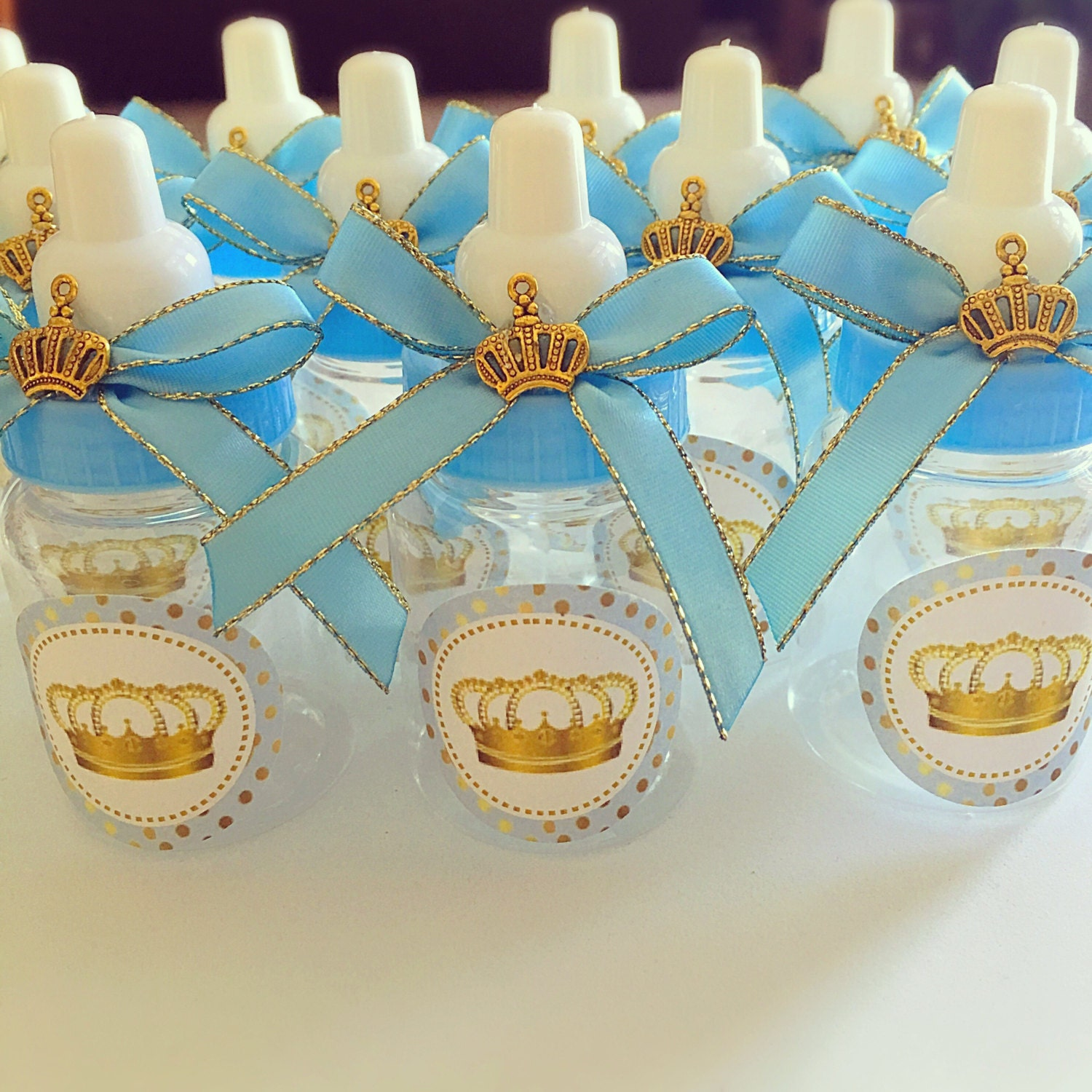 Prince Baby Shower Favors: 12 Little Prince Baby Shower Favors Little Prince Blue And