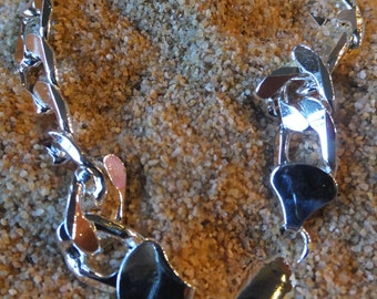 Sterling Silver Mens Thick Chain Link Bracelet