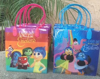 Inside Out themed Goody Bags