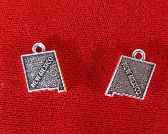 """BULK! 30pc """"New Mexico"""" charms in antique silver style (BC963B)"""