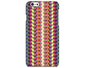 Geometric Triangle Coloured Case for iPhone 4/4S 5/5S 5C 6/6S 6/6S Plus SE