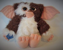 Vintage Plush Applause Gizmo From The Gremlins Movie With Tag - Rare.