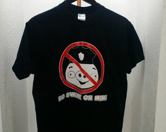 No swine on Mine (Black)