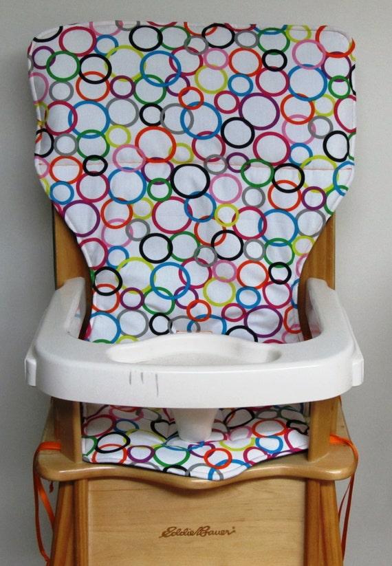 High Chair Pad Eddie Bauer Wood Chair Feeding Accessory