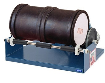 Dual Drum ( 2 Drum ) Rotary Rock Stone Metal Tumbler Polisher - 6 lb Capacity jewelry cleaning  255-112