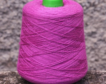 cashcotton yarn on cone, per 100g