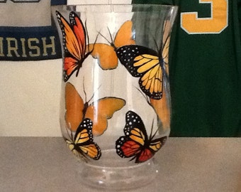 Butterfly glass hurrican