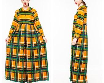 Holiday Sale Vintage Jane Martin Plaid Jumpsuit