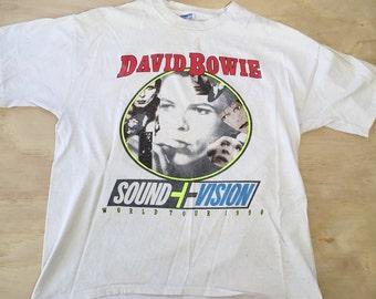Vintage DAVID BOWIE 1990 Concert Shirt