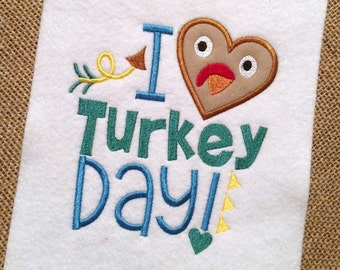 Thanksgiving Applique - Turkey Applique - Thanksgiving Embroidery - Holiday Applique - Holiday Embroidery - Thanksgiving  Embroidery Saying