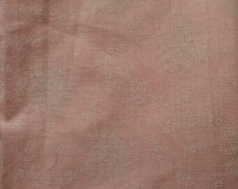 Beautiful Vintage Pale Pink Cotton Voile