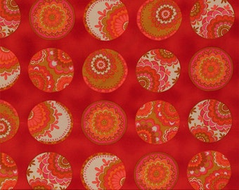 Free Spirit - Karavan by Valorie Wells - Ruby Bangle - PWVW042-Ruby - Cotton Fabric