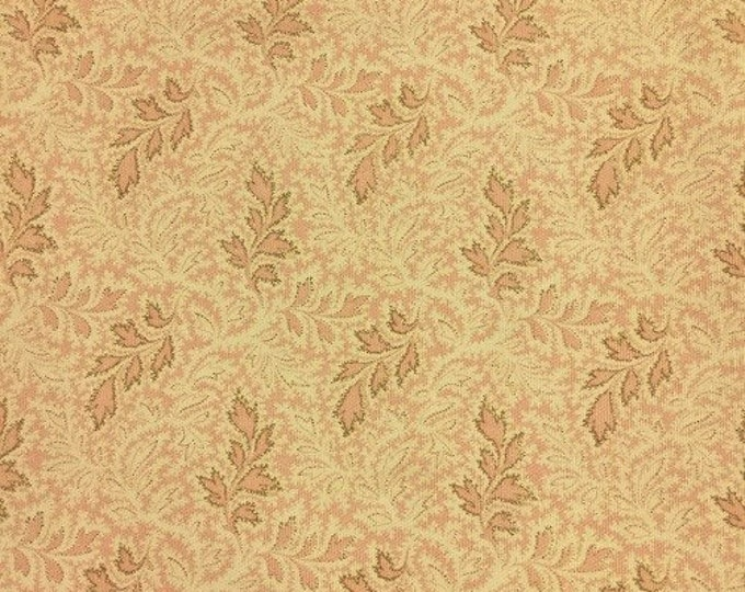 TPSA International - A  Very Feminine Delicate Pink & Cream Upholstery Fabric