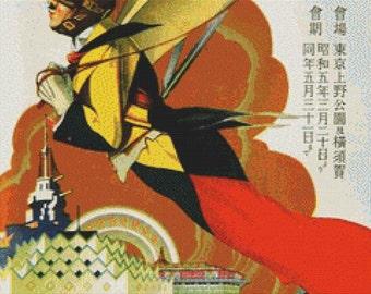 Japanese Expo PDF Cross Stitch Pattern