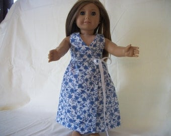 "Handmade Doll Maxi Dress for 18"" Dolls -18"" Doll Dress - 18"" Doll Clothes"