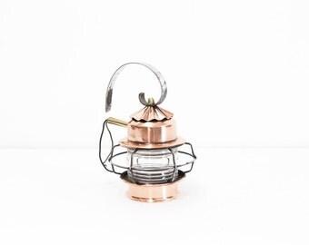 Copper Ship Lantern