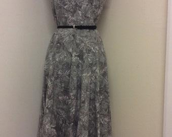 Vintage 50s Cotton Dress